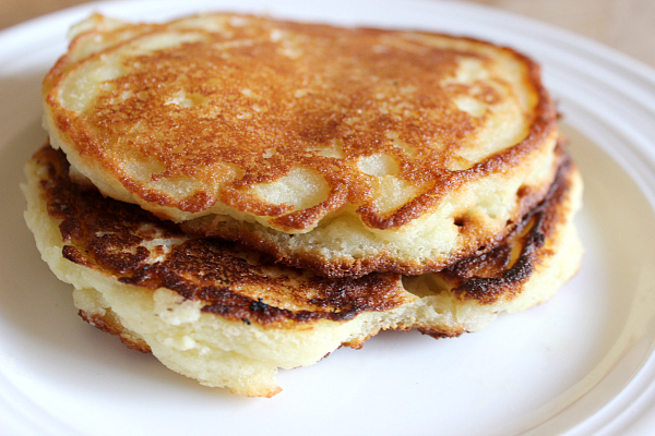 gluten-free and grain-free yogurt pancakes