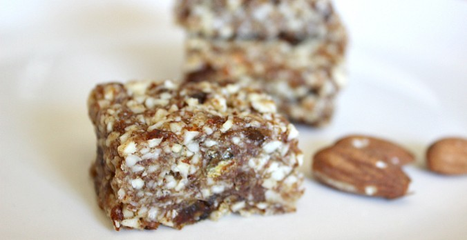 2 Ingredient Gluten-free Energy Bars
