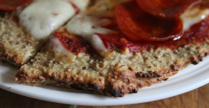 Grain-Free Sourdough Pizza Crust