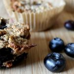 Paleo Lemon Blueberry Muffins ; f