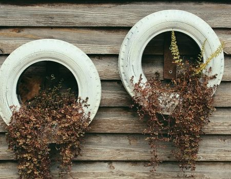 5 Ways to Recycle Tires Tire Planter
