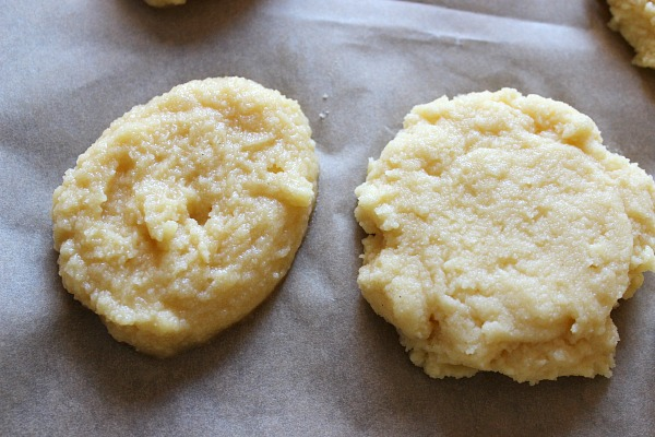 Coconut Flour Biscuits before baking