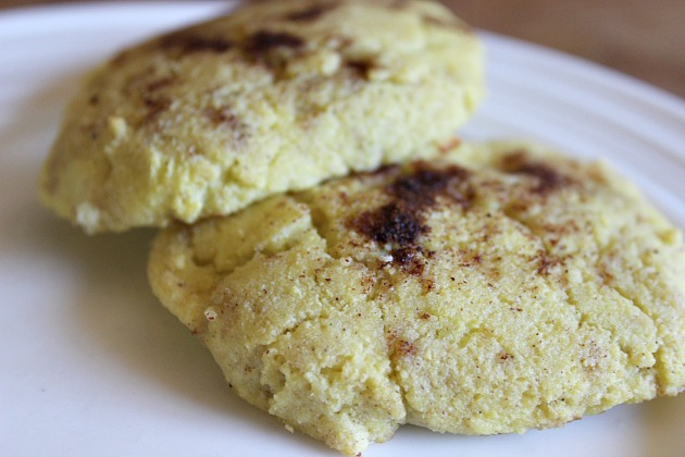 Coconut Flour Biscuits made with coconut oil