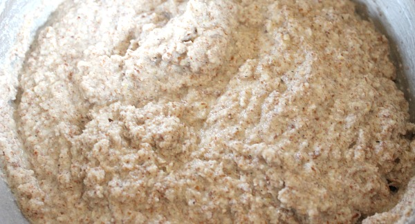 Simple egg-free paleo almond bread dough