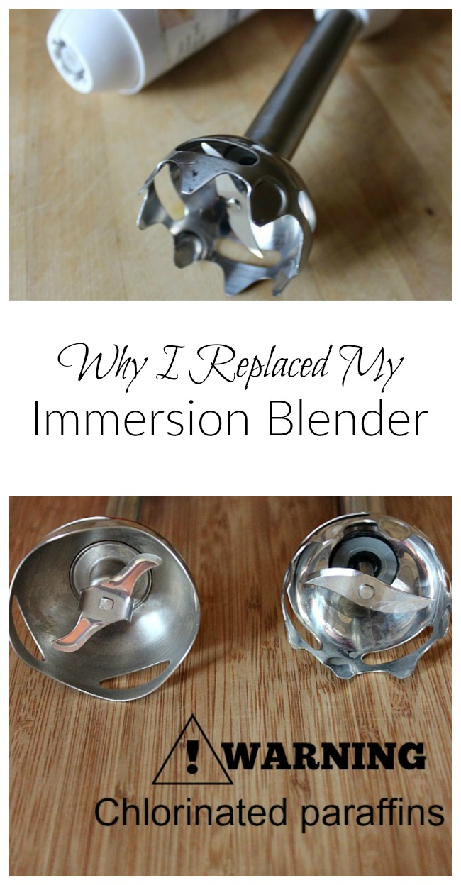 Is machinery so close to our food a good idea? Find out why I replaced my immersion blender and use it less frequently!