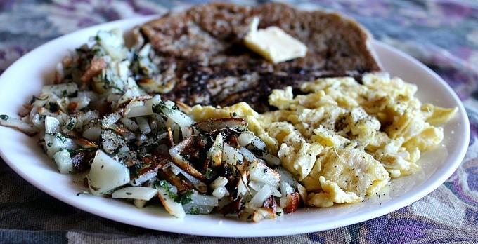 Grain-free Breakfast Menu